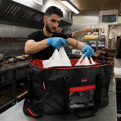 UltimateHeat Premium Heated Takeaway Food Delivery Bag