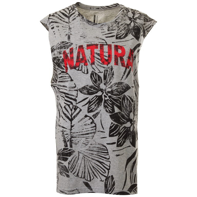 Men's Sleeveless T-Shirt ''Natural'' Brokers - en.brands4all.com.gr - 1