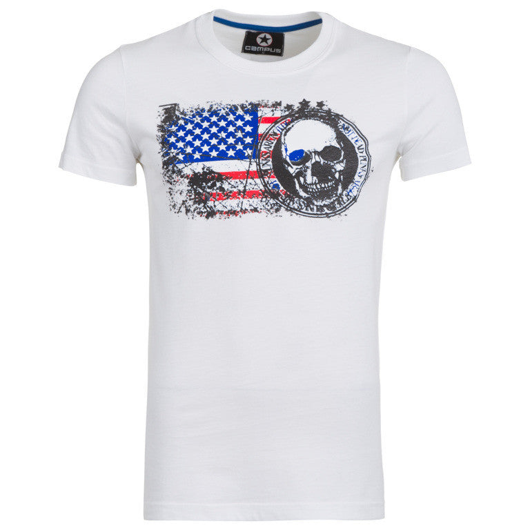 "Men's T-Shirt ""Warning"" Campus - en.brands4all.com.gr - 1"