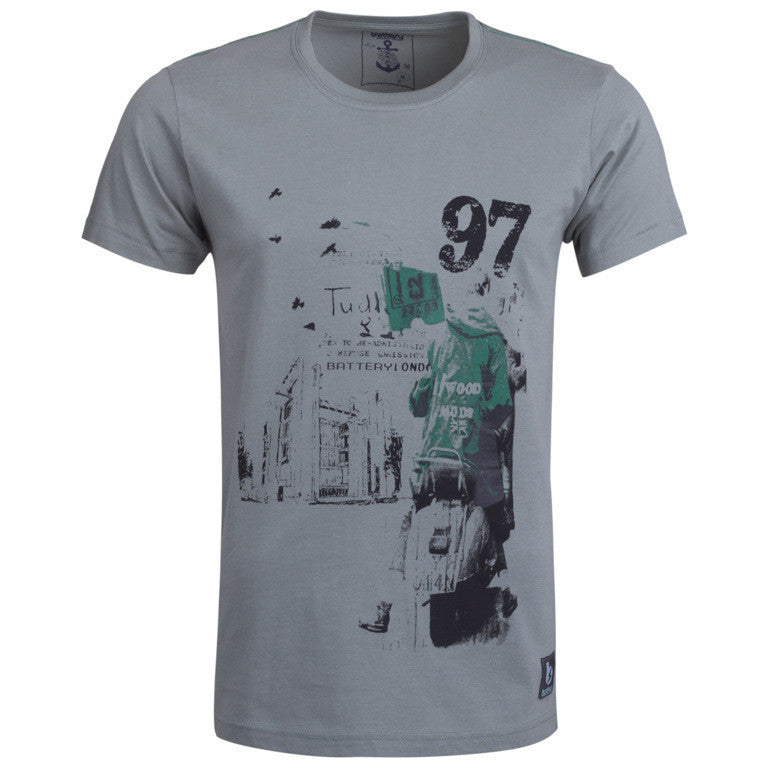 Men's T-Shirt ''Scooter 97'' Battery - en.brands4all.com.gr - 1