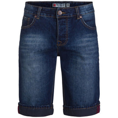 "Men's Denim Shorts ""Target"" Van Hipster - en.brands4all.com.gr - 1"