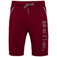 "Men's Shorts ""Ask Me If You Care"" Life Is Life - en.brands4all.com.gr - 1"