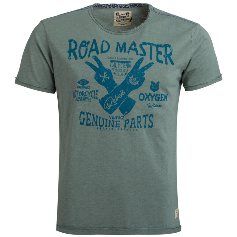 "Men's T-Shirt ""Road Master"" Oxygen - en.brands4all.com.gr - 1"