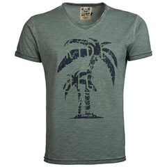 "Men's T-Shirt ""Ride The High Waves"" Oxygen - en.brands4all.com.gr - 1"