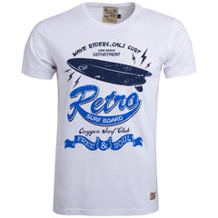 "Men's T-Shirt ""Retro Surf"" Oxygen - en.brands4all.com.gr - 1"