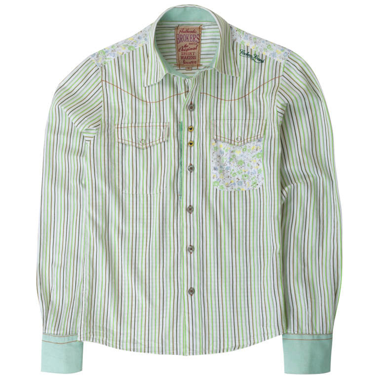 "Men's Shirt ""Phineas"" Brokers - en.brands4all.com.gr - 1"