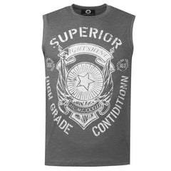 "Men's Sleeveless T-Shirt ""Superior Condition"" Campus - en.brands4all.com.gr - 1"