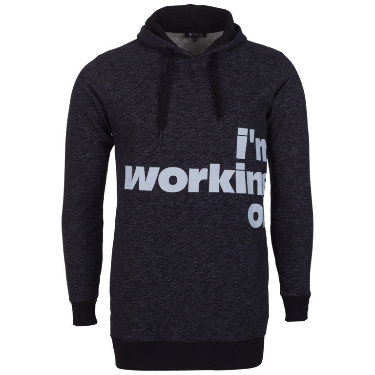 "Men's Hoodie ""I'm Working On"" So Fashion - en.brands4all.com.gr - 1"