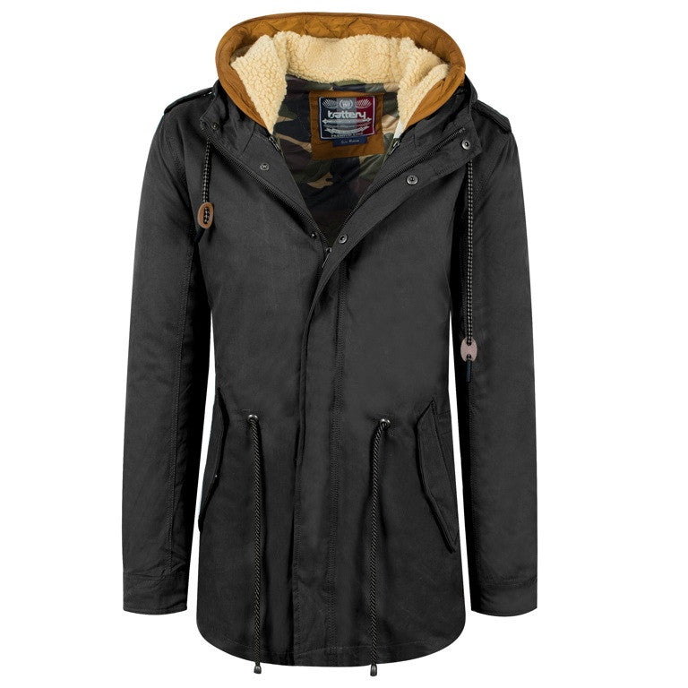 "Men's Jacket Parka ""Feel the Winter"" Battery"
