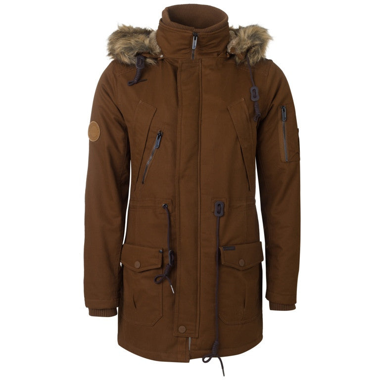 "Men's Jacket Parka ""Makes you Feel Warm"" Biston"