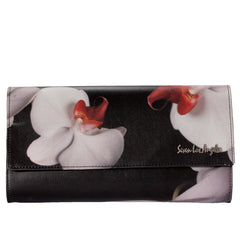 "Women Bags Clutches ""Flower Print"" Seven L.A - en.brands4all.com.gr - 1"