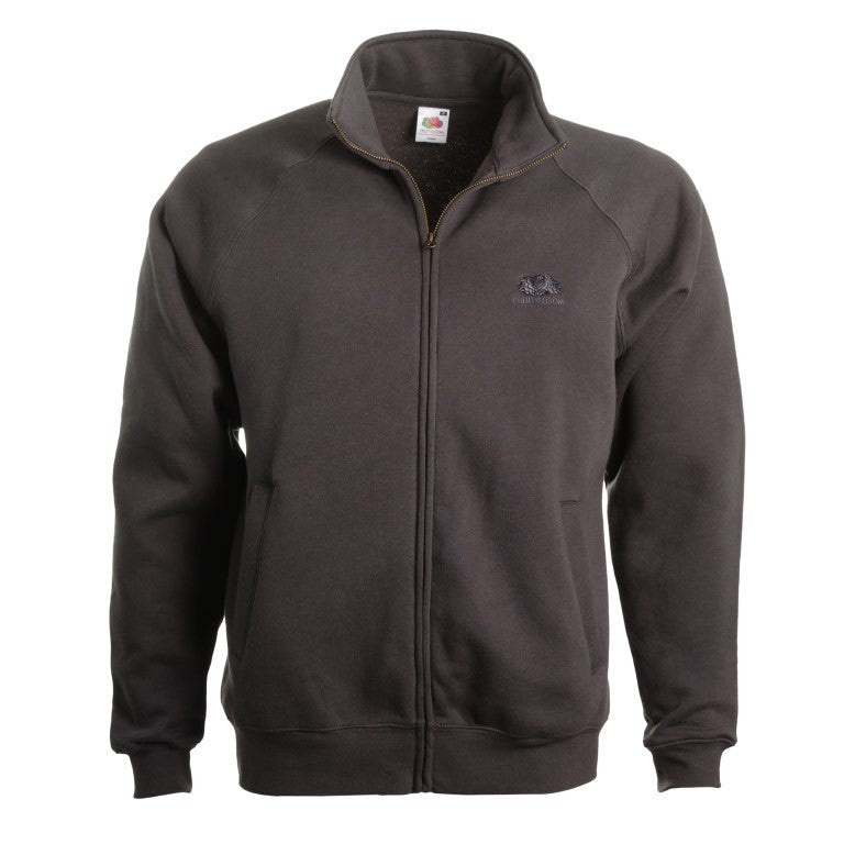 "Men's Zipped Hoodies ""Coconut"" Fruit of the Loom - en.brands4all.com.gr - 1"