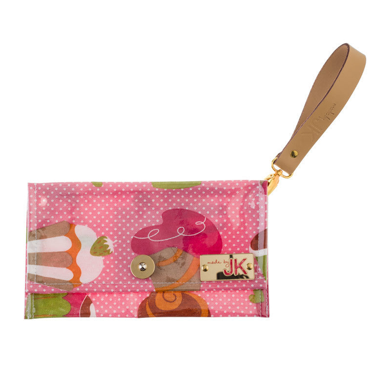 "Women Bags Clutches ""My Pink Cupcake"" made by JK - en.brands4all.com.gr - 1"