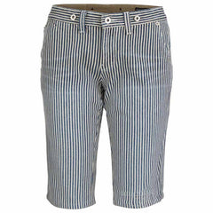 "Unisex Denim Short Pants ""Casual Stripes"" School Of Women - en.brands4all.com.gr - 1"
