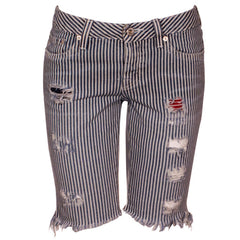 "Women's Denim Short Pants ""Nuova"" School Of Women - en.brands4all.com.gr - 1"