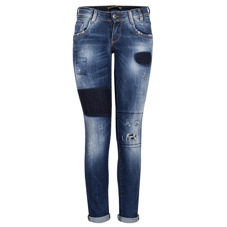 "Women's Jeans ""Believe in Yourself"" Edward Jeans - en.brands4all.com.gr - 1"