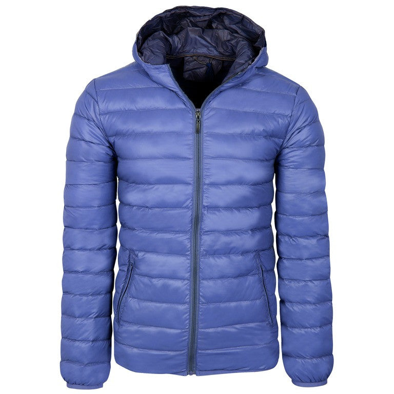 "Men's Down Jacket ""Try your Best"" Gymnasium"