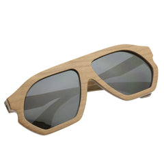 "Unisex Wooden Sunglasses ""Justin"" Good Rise - en.brands4all.com.gr - 1"