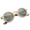 "Unisex Wooden Sunglasses ""Jaden"" Good Rise"
