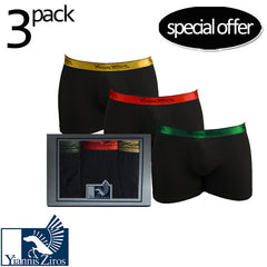 "Ανδρικό Σετ 3pcs Boxer ""Shinny Shorts"" Yannis Ziros - brands4all"