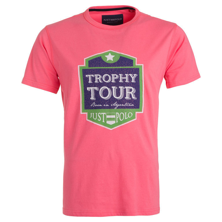 "Мъжка тениска ""Trophy Sheild"" Just Polo - bg.brands4all.com.gr - 1"