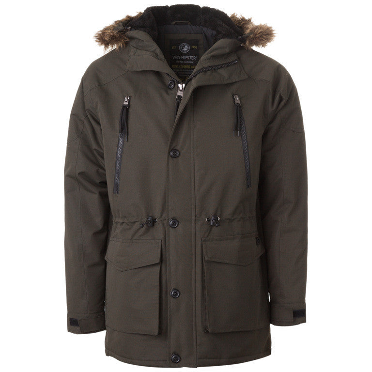 "Ανδρικό Μπουφάν Parka ""Hip Cloth"" Van Hipster - brands4all - 1"