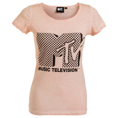 "Дамска тениска ""Music Television"" MTV - bg.brands4all.com.gr - 1"