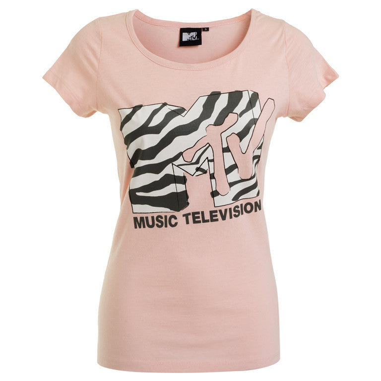 "Дамска тениска ""Zebra"" MTV - bg.brands4all.com.gr - 1"