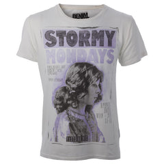 "Мъжка тениска ""Stormy Mondays"" Denim Junkie - bg.brands4all.com.gr - 1"