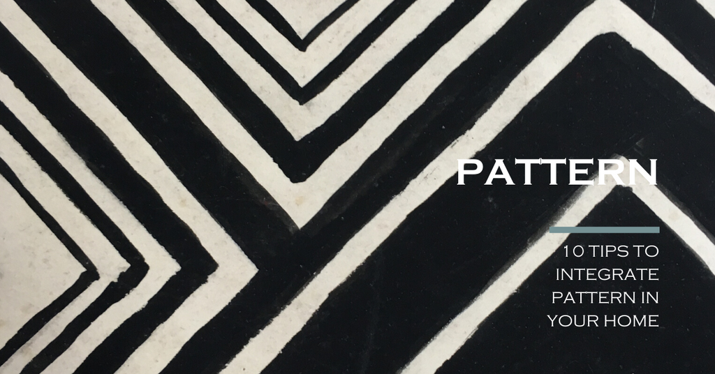 10 tips to integrate pattern in your home