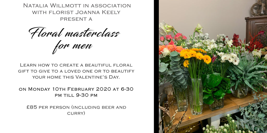 Floral masterclass for men