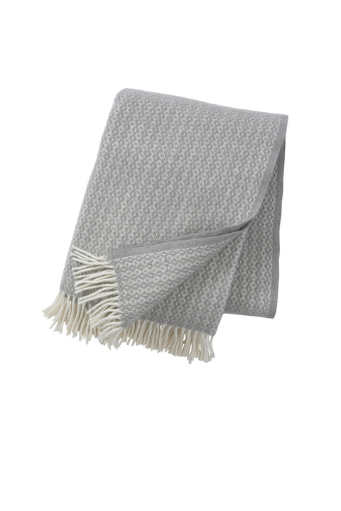 Lambs wool throw / blanket - Rumba Mint - L'Atelier Natalia Willmott