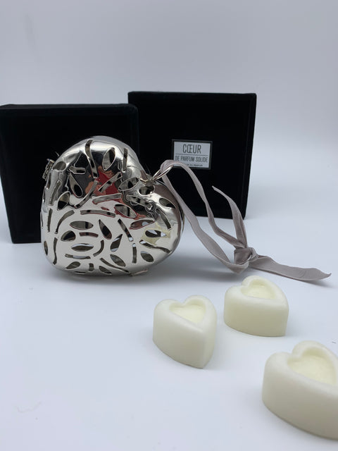 Art Deco large scented heart pomander - L'Atelier Natalia Willmott