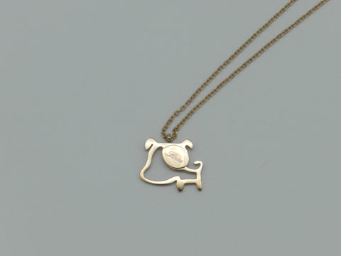 Dog necklace - L'Atelier Natalia Willmott