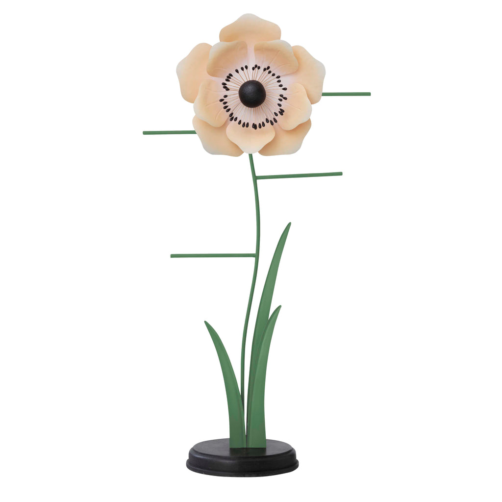 Jewellery stand with a Poppy