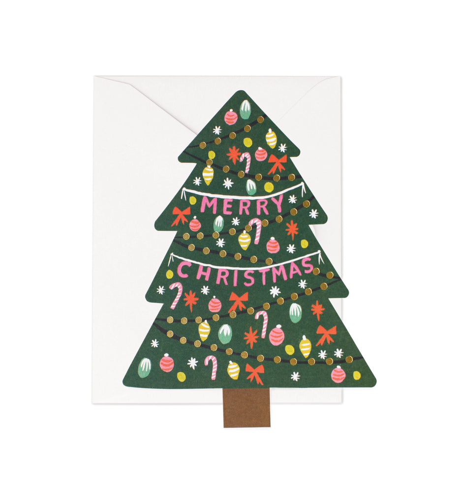 Christmas tree card - L'Atelier Natalia Willmott
