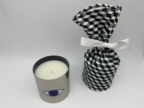 "Scented candle ""Eye"" Feesia - L'Atelier Natalia Willmott"