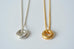 Gold or Silver Donut necklace by Elisabeth Riveiro - L'Atelier Natalia Willmott