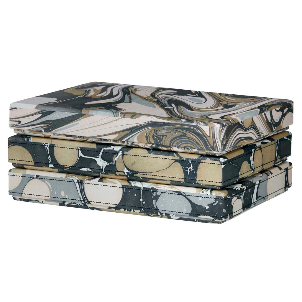 Marble design organizer box