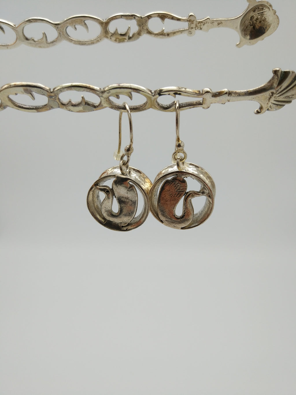Earrings Cercle Pato - Silver by Elisabeth Riveiro - L'Atelier Natalia Willmott
