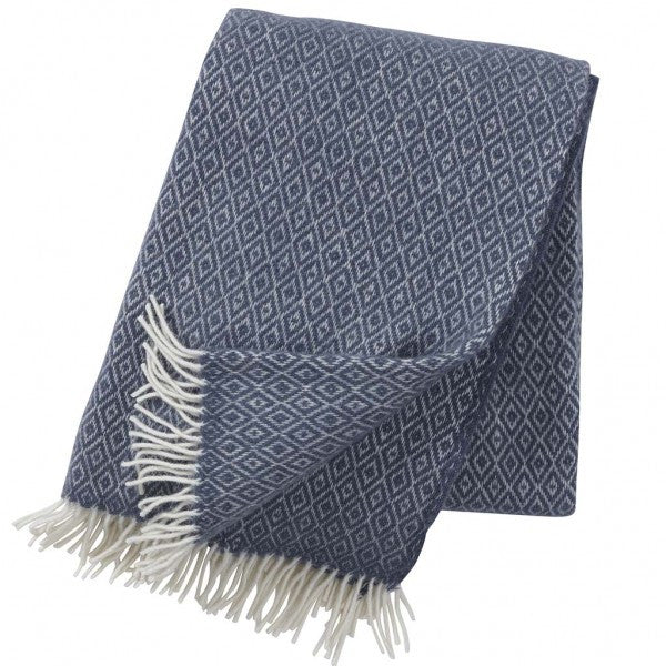 Stella smokey wool throw / blanket - L'Atelier Natalia Willmott