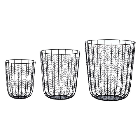 Wave wire basket set
