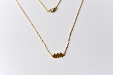 Bat charm necklace - L'Atelier Natalia Willmott