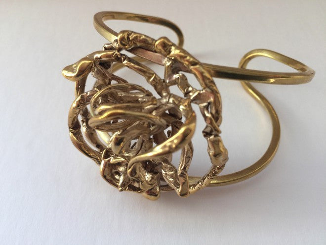 Angel's nest cuff - L'Atelier Natalia Willmott