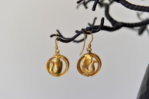 Earrings Cercle Pato by Elisabeth Riveiro - L'Atelier Natalia Willmott