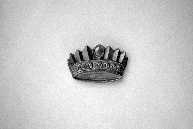 Crown Graphite Object - L'Atelier Natalia Willmott