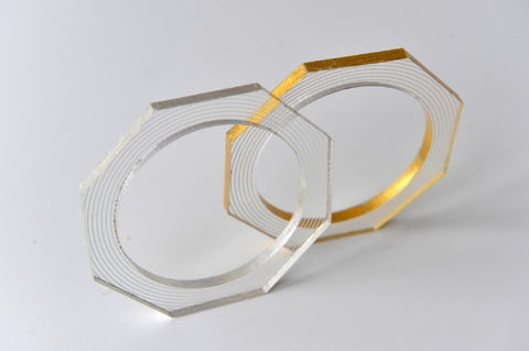Eternity hexagon bangle by Mojiana designs - L'Atelier Natalia Willmott