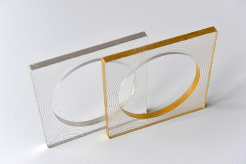 Eternity square bangle by Mojiana designs - L'Atelier Natalia Willmott