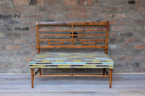 Aesthetic movement small settee - L'Atelier Natalia Willmott