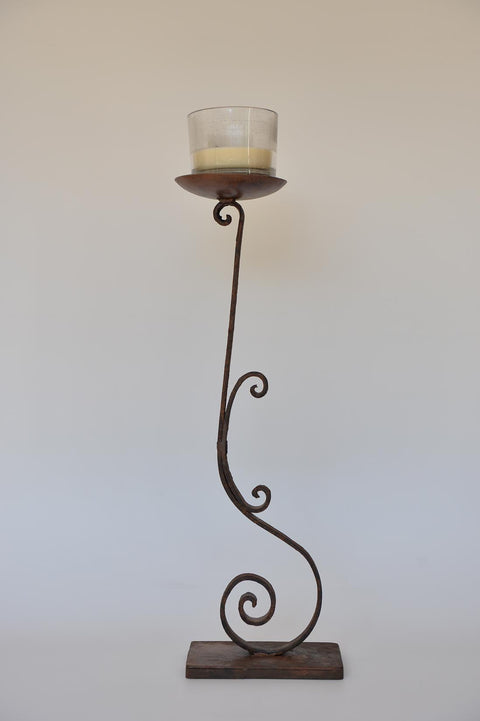 Wrought Iron Maizane candleholder